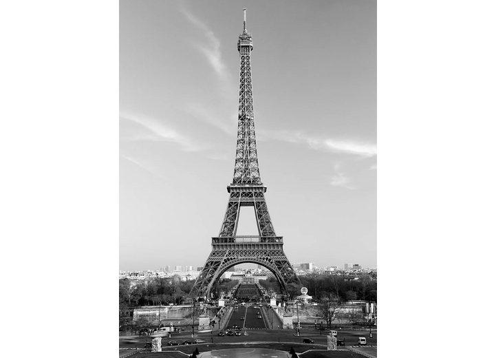 Home affaire Fototapete »Der Eiffelturm«, 183/254 cm