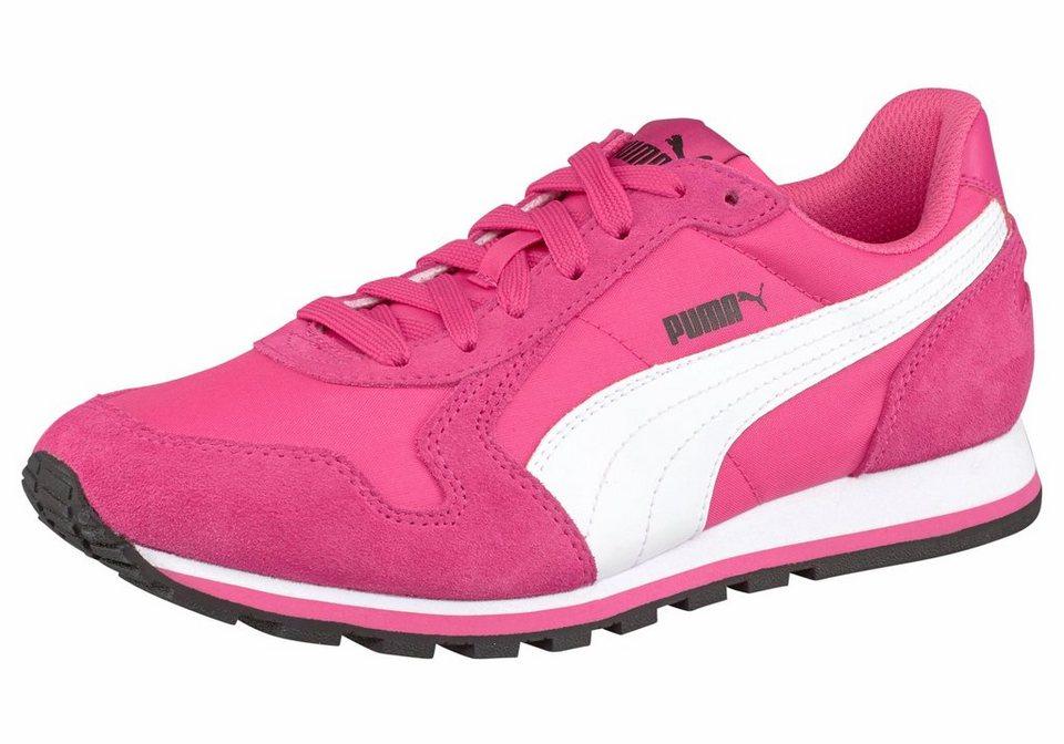 PUMA Sneaker »ST Runner NL« in pink-weiß