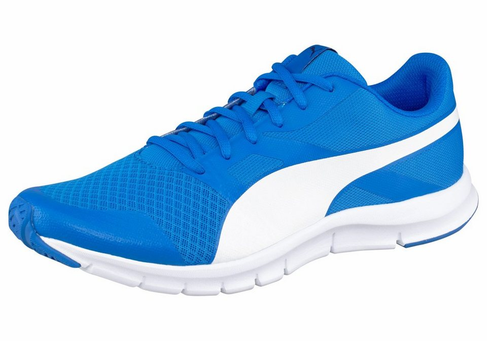 PUMA »Flexracer« Laufschuh in royalblau-weiß