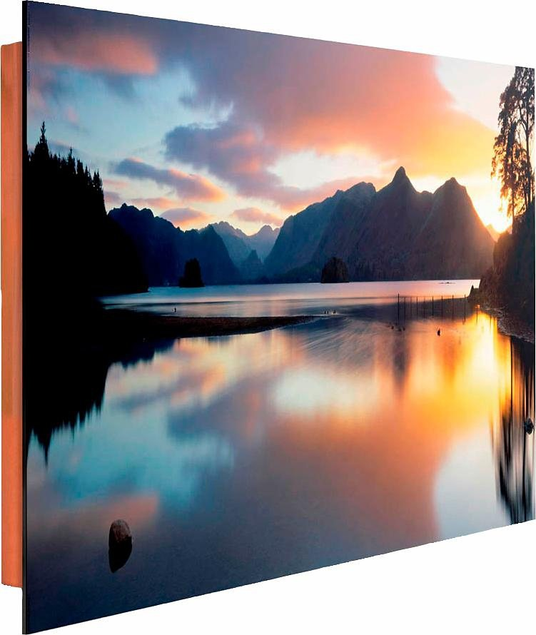Home affaire Deco Panel »Derwent See«, 90/60 cm in bunt