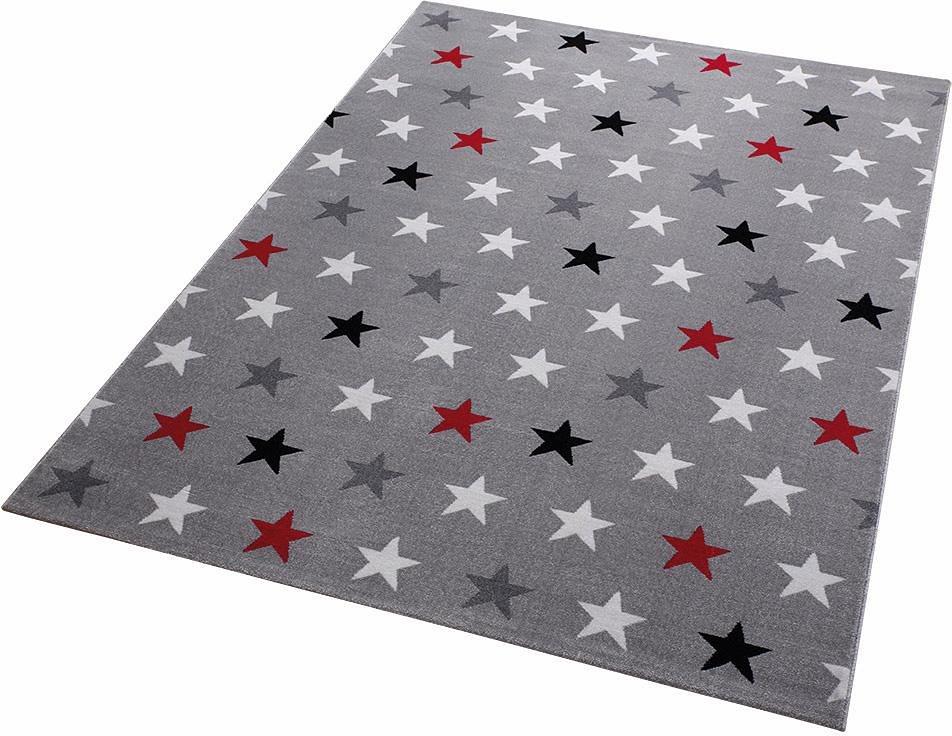 Teppich, Wecon Home, »Starry Sky«, Sterne in grau