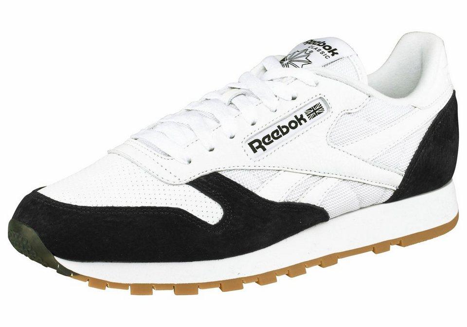 Reebok »Classic Leather SPP« Sneaker in weiß-schwarz
