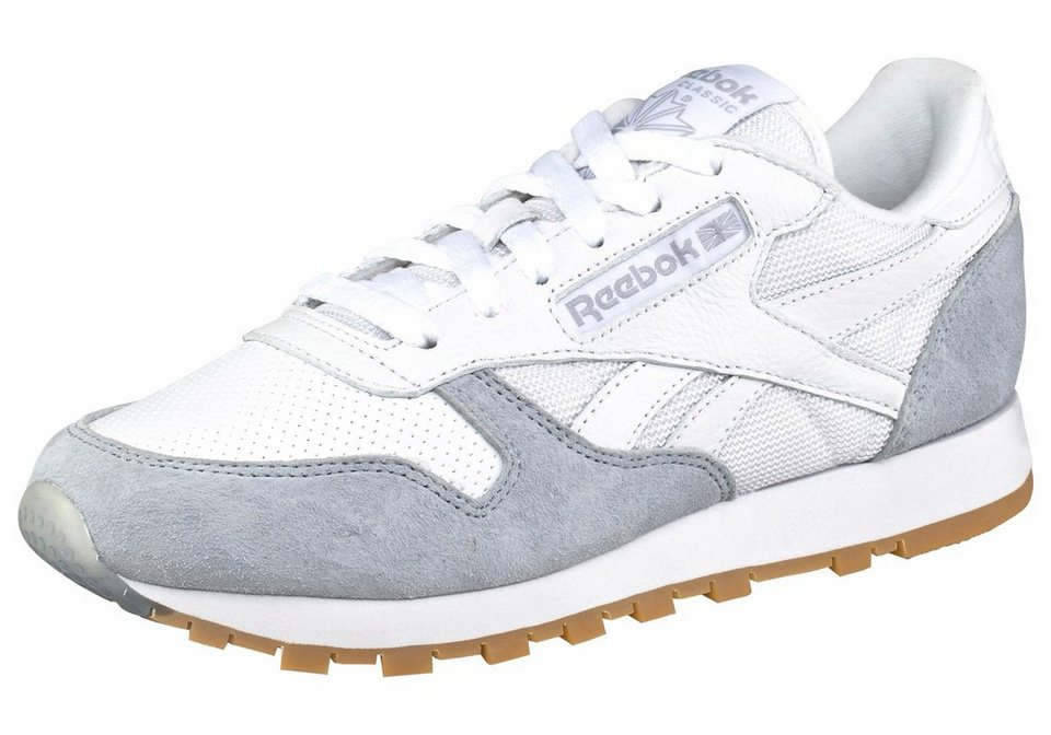 Reebok »Classic Leather SPP« Sneaker in weiß-grau