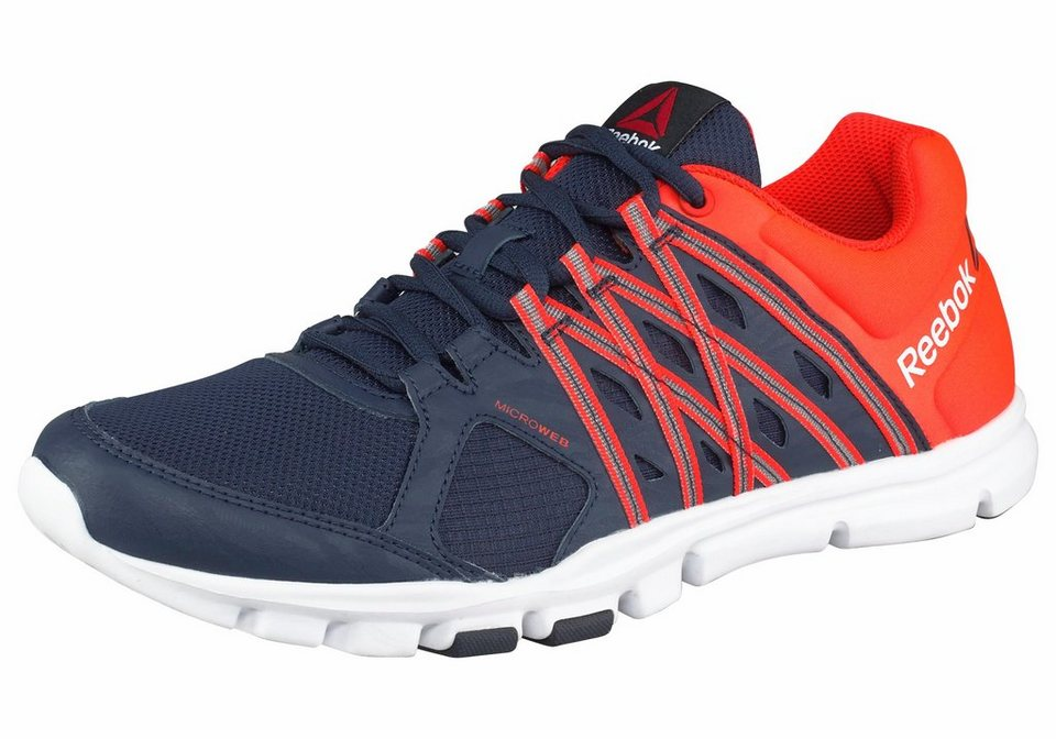 Reebok Trainingsschuh »Yourflex Train 8.0« in blau-orange