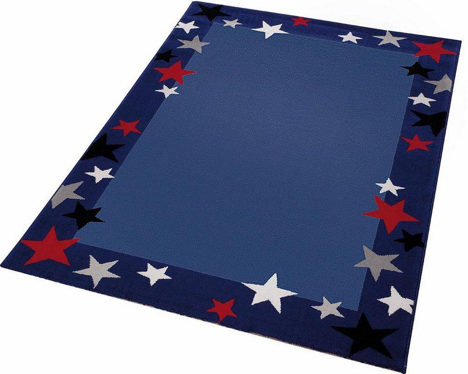 Kinder-Teppich, Wecon Home, »Just Stars«, mit Sternen in blau