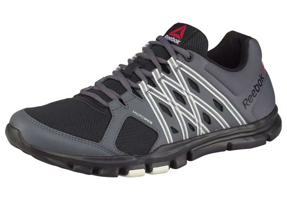 Reebok »Yourflex Train 8.0« Trainingsschuh in schwarz-grau