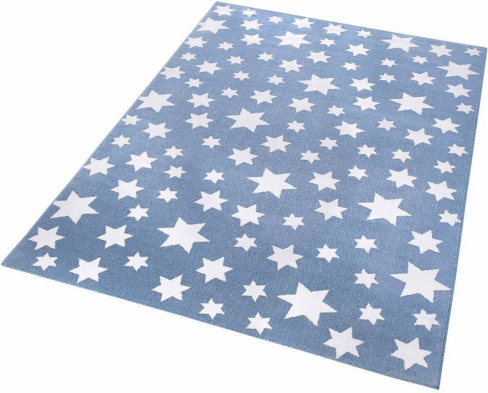 Kinder-Teppich, Wecon Home, »Jeans Star« in blau