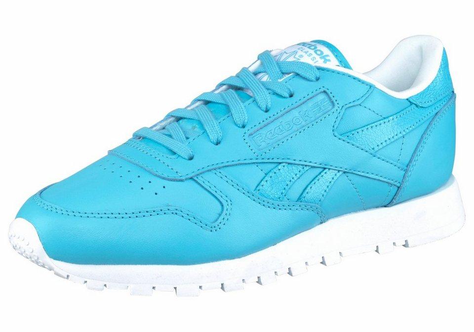 Reebok »Classic Leather II« Sneaker in blau-türkis