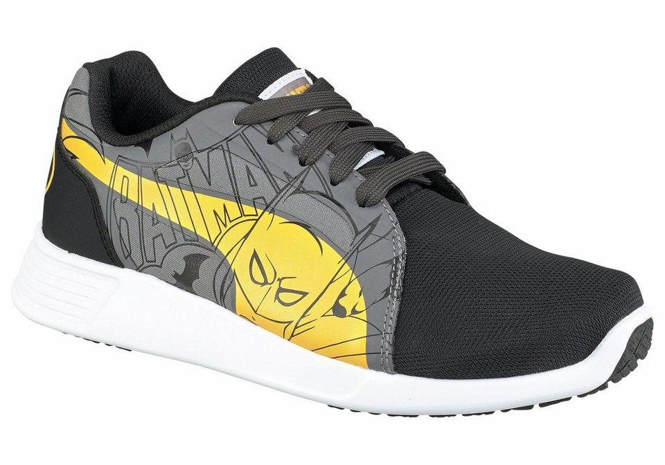 PUMA Sneaker »ST Trainer Evo Batman« in schwarz-gelb