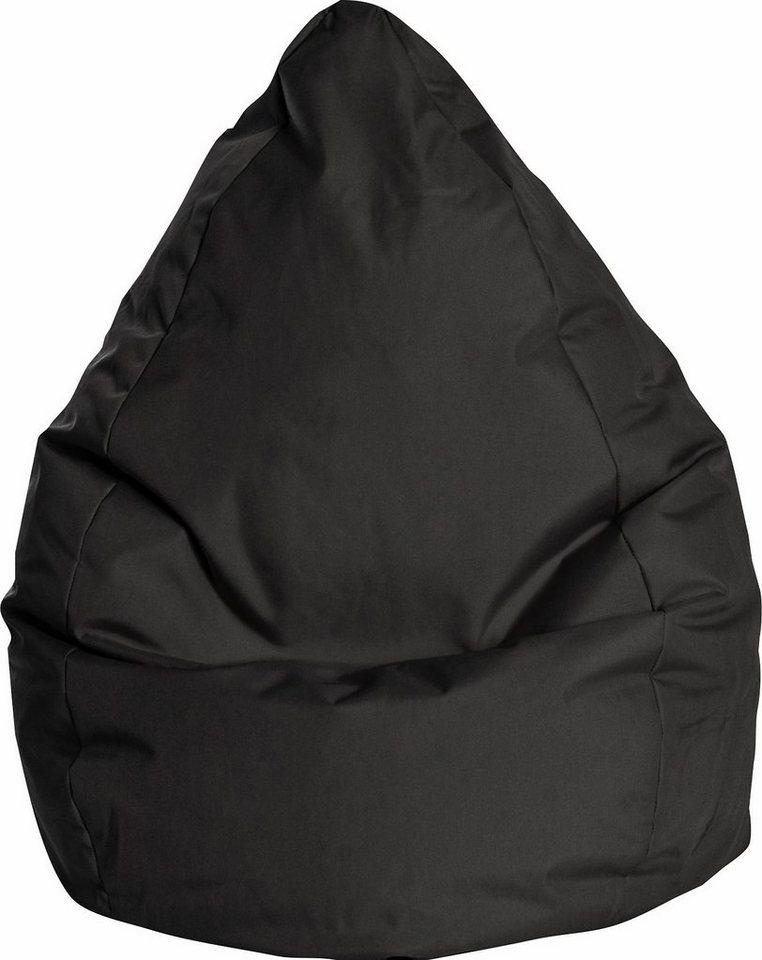 Sitting Point Sitzsack »BRAVA XXL« in schwarz