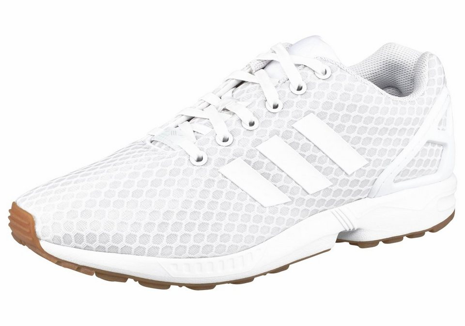 adidas Originals »ZX Flux« Sneaker in weiß-natur