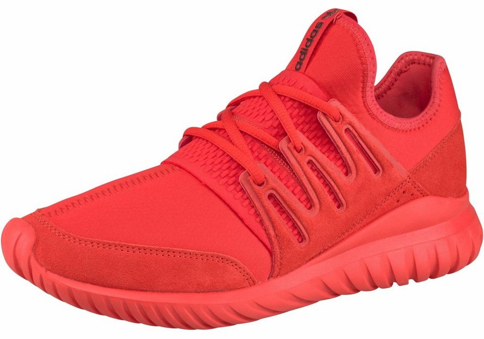 adidas Originals »Tubular Radial« Sneaker in rot