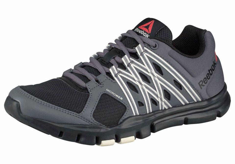 Reebok Fitnessschuh »Yourflex Trainette 8.0« in schwarz-grau