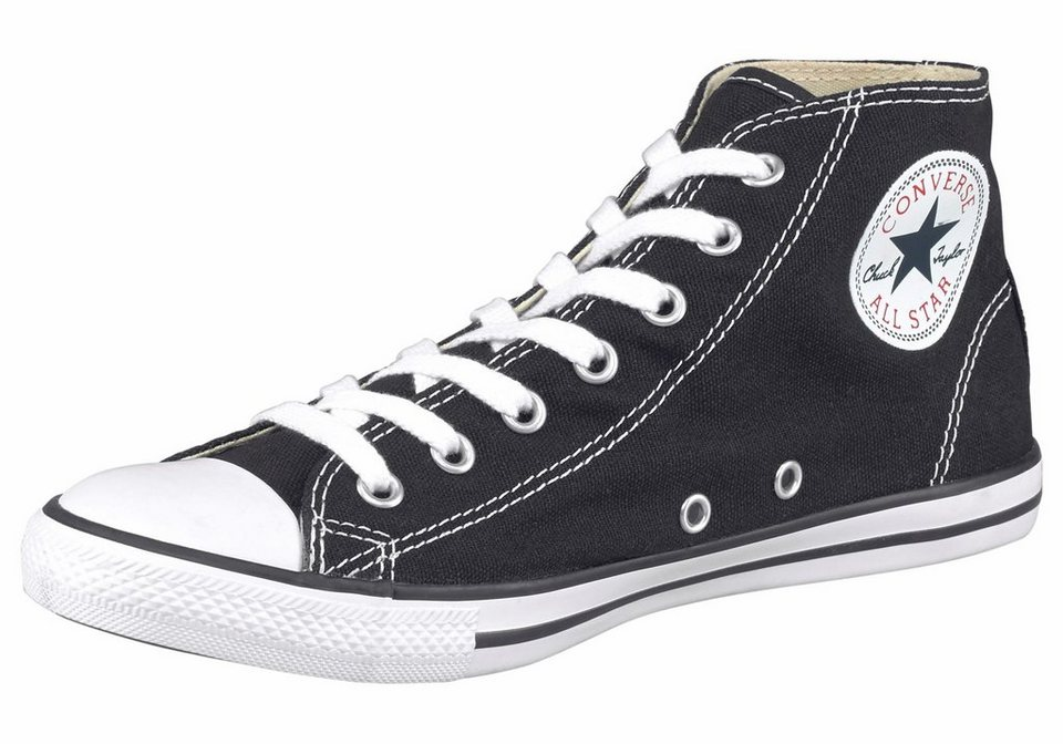 Converse »Chuck Taylor All Star Dainty Mid« Sneaker in schwarz