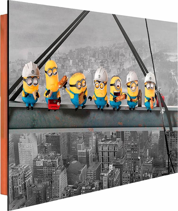 Home affaire Deco Panel »Minions«, 90/60 cm