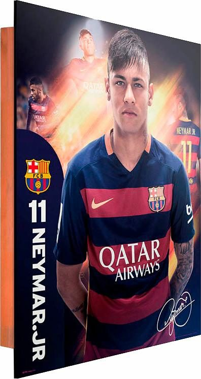 Home affaire Deco Panel »Neymar Barcelona«, 40/50 cm
