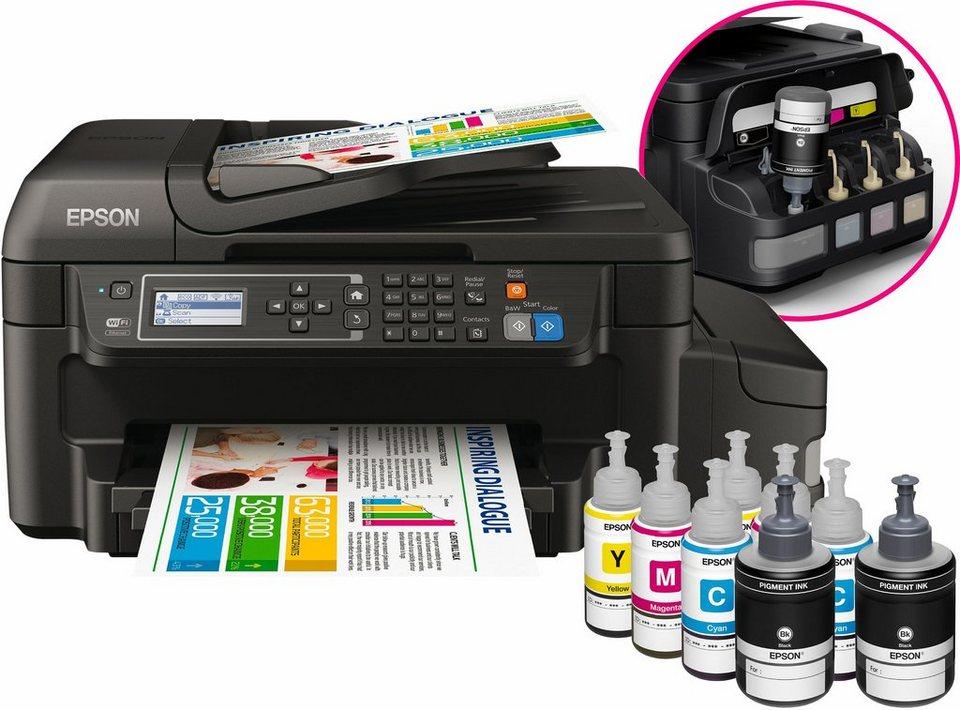 Epson EcoTank ET-4550 Multifunktionsdrucker in schwarz