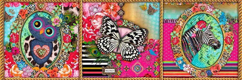 Home affaire Deco Panel »Melli Mello - Anne«, 90/30 cm