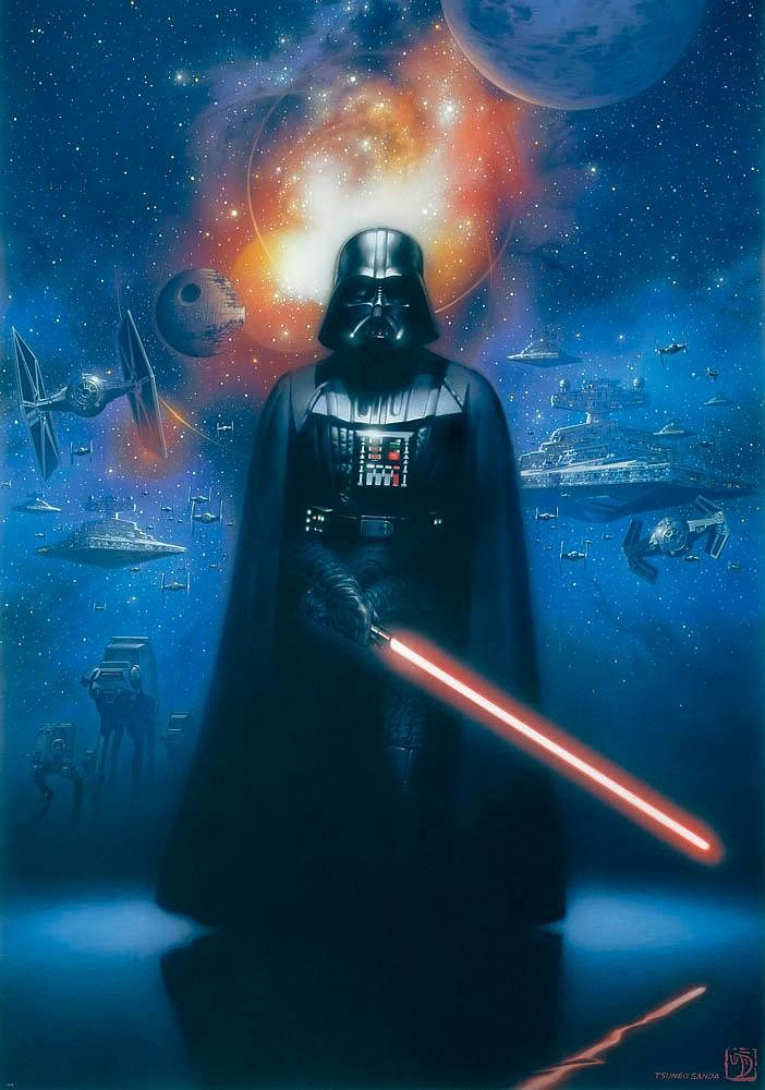 Home affaire Fototapete »Star Wars Darth Vader«, 184/254 cm