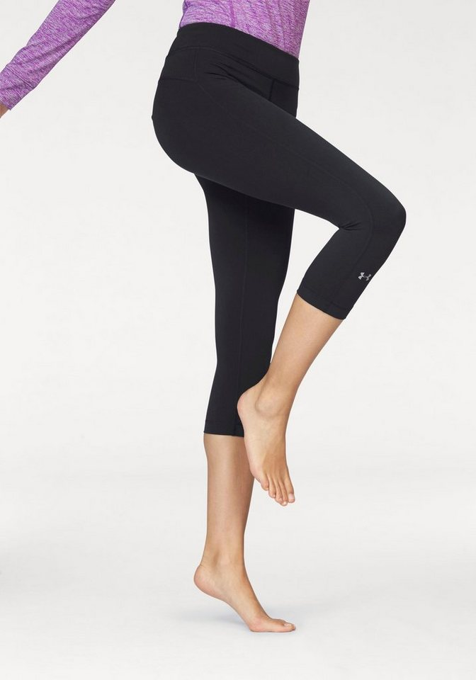 Under Armour® 3/4-Hose »HEATGEAR ARMOUR CAPRI« in schwarz
