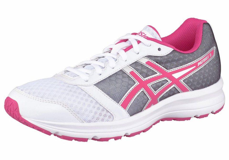 Asics »Patriot 8« Laufschuh in weiß-pink