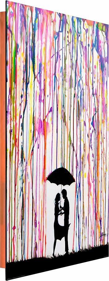 Home affaire Deco Panel »Marc Allante - trace«, 60/90 cm in bunt