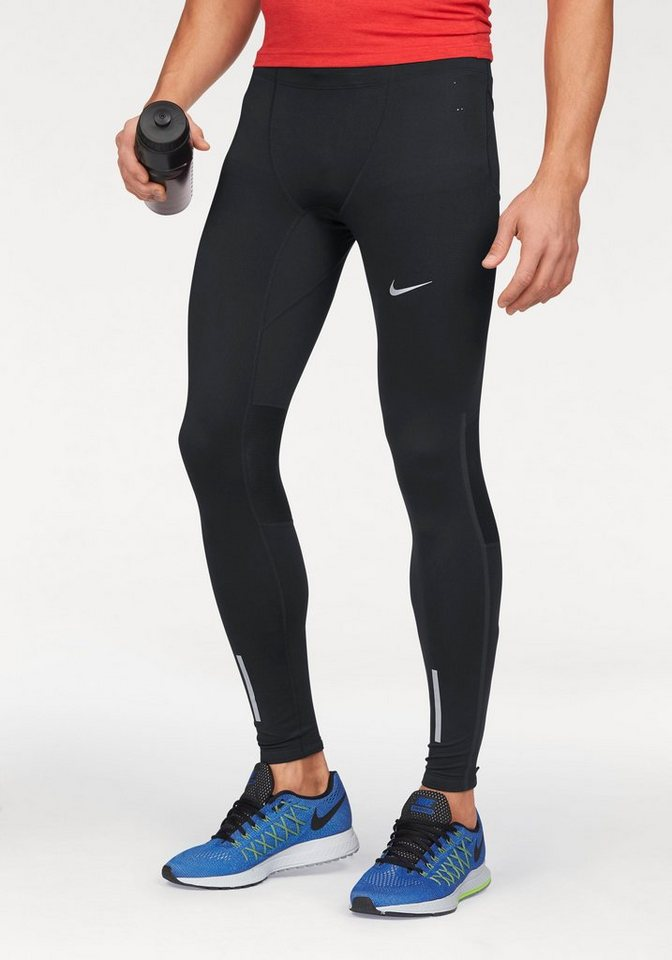 Nike Lauftights »TECH TIGHT« in schwarz