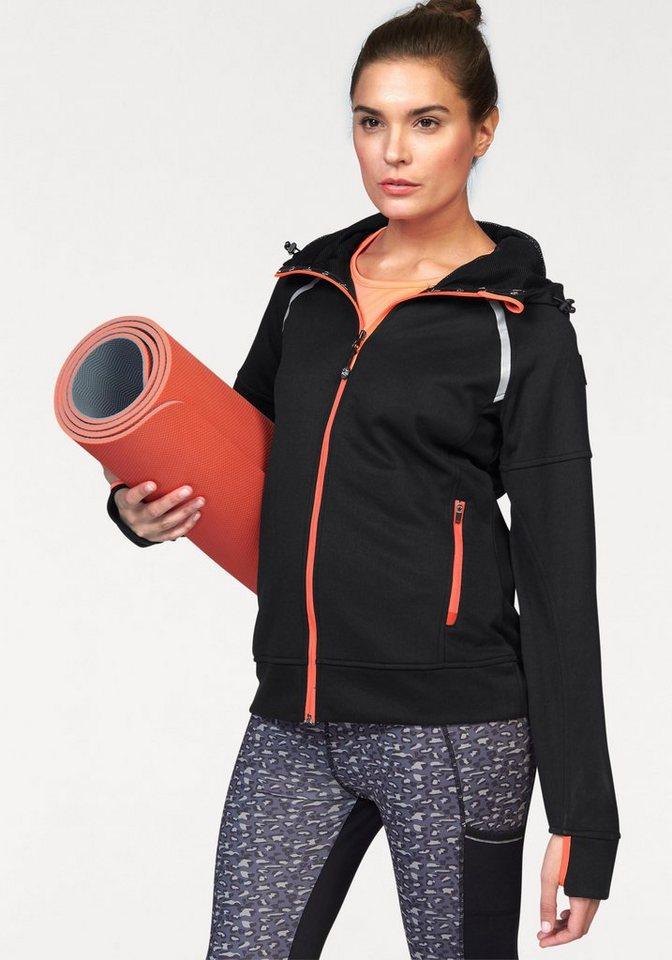 Maria Höfl-Riesch Trainingsjacke in schwarz