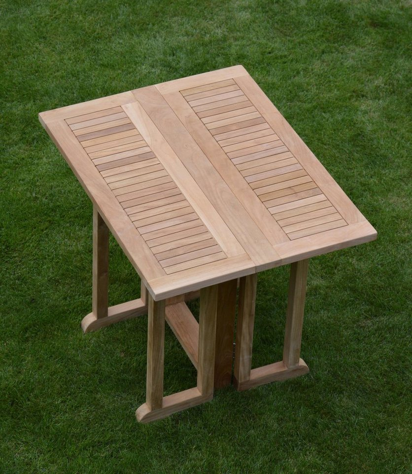 jankurtz Outdoor Klapptisch »city« in Teak natur