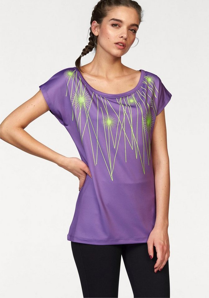 H.I.S Funktionsshirt in lila