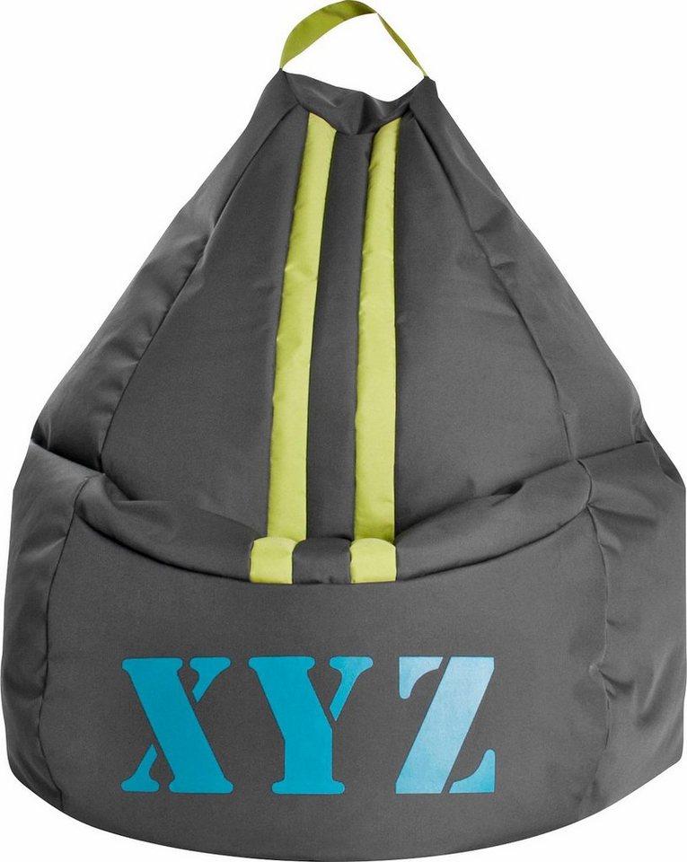 Sitting Point Sitzsack »XYZ XL« in anthrazit