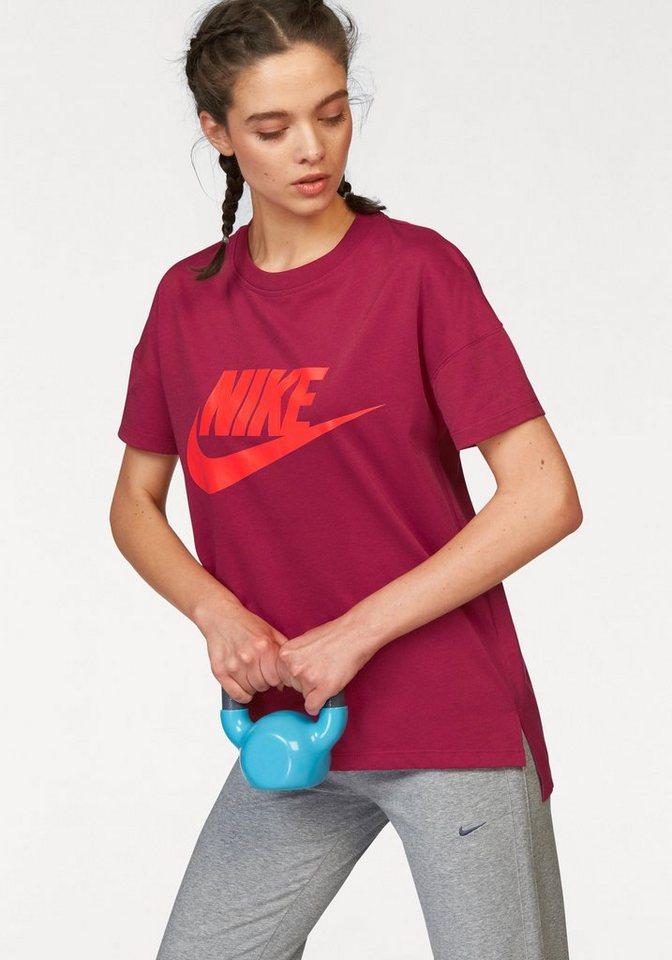 Nike T-Shirt »SIGNAL TEE LOGO« in rot