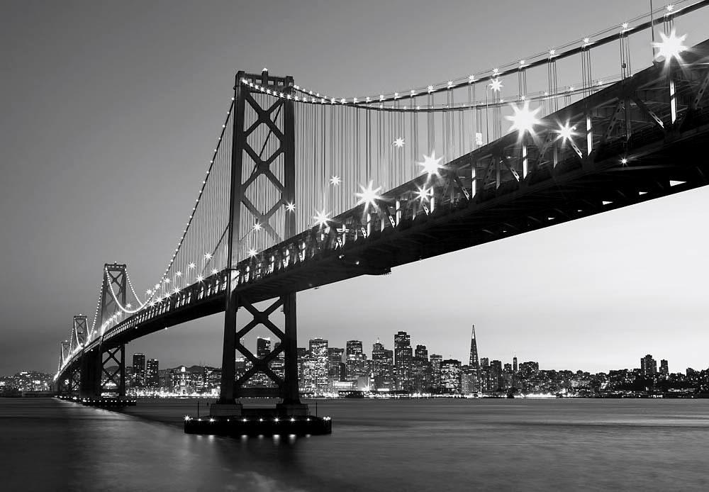 Home affaire Fototapete »San Fransisco Horizont«, 366/254 cm