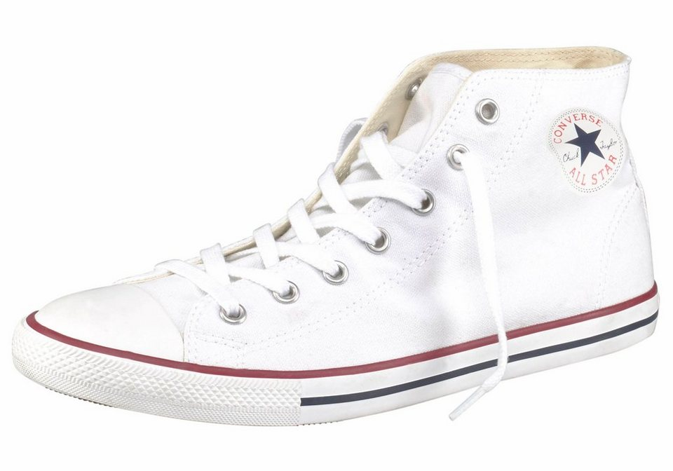 Converse Sneaker »Chuck Taylor All Star Dainty Mid« in weiß