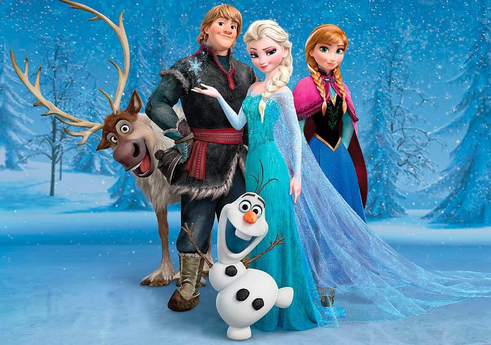 Home affaire Fototapete »Disney Frozen«, 254/184 cm