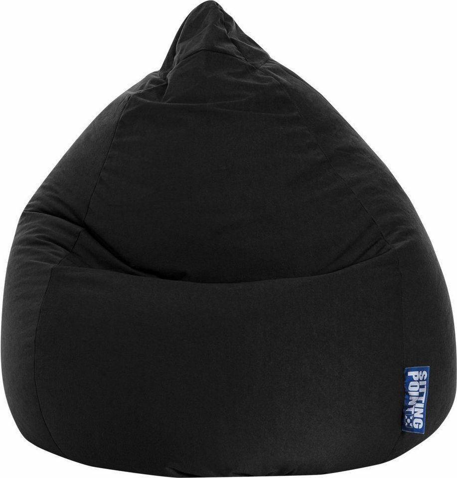 Sitting Point Sitzsack »EASY XL« in schwarz