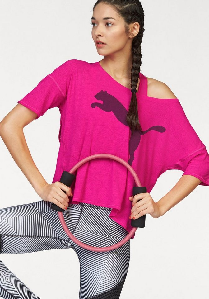 PUMA Funktionsshirt »Loose Tee 2« in pink