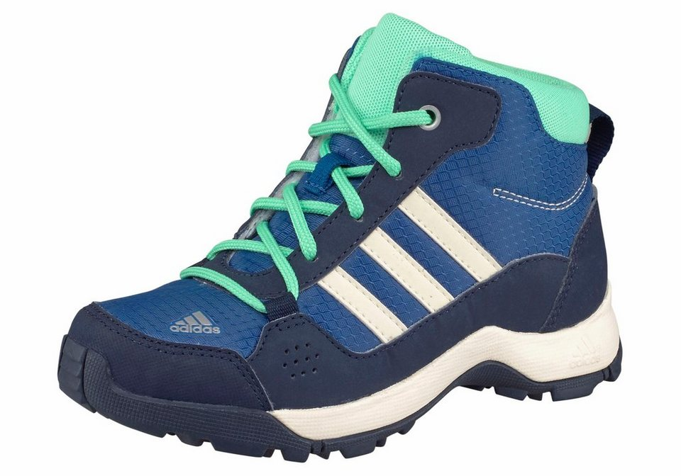 adidas Performance »Hyperhiker« Outdoorschuh Kinder in blau-grün