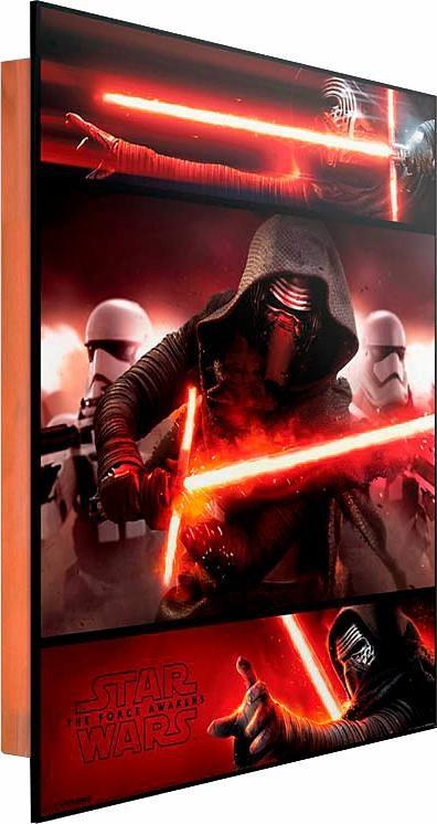 Home affaire Deco Panel »Star Wars Force Awakens«, 40/50 cm