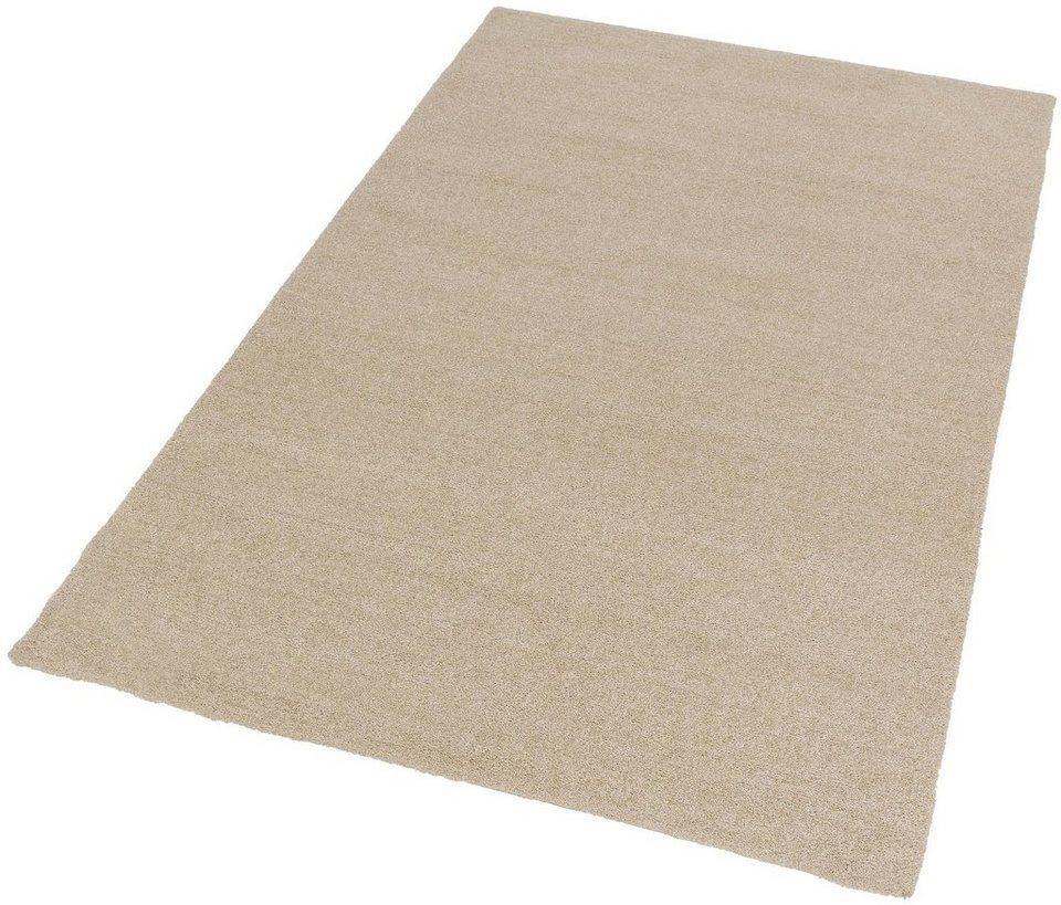 Hochflor-Teppich, Astra, »Livorno Melange«, Höhe 27 mm, getuftet in creme-mel.
