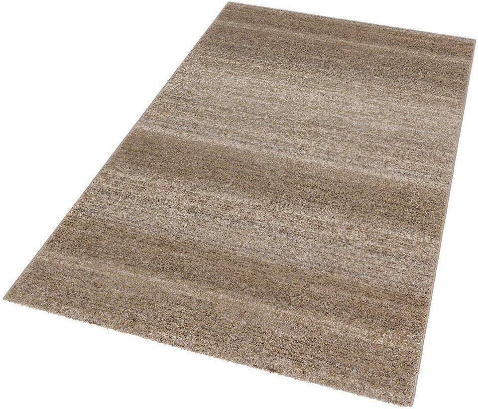 Teppich, Astra, »Carpi Uni«, gewebt in beige