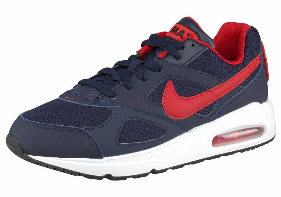 Nike »Air Max Ivo« Sneaker in dunkelblau-rot