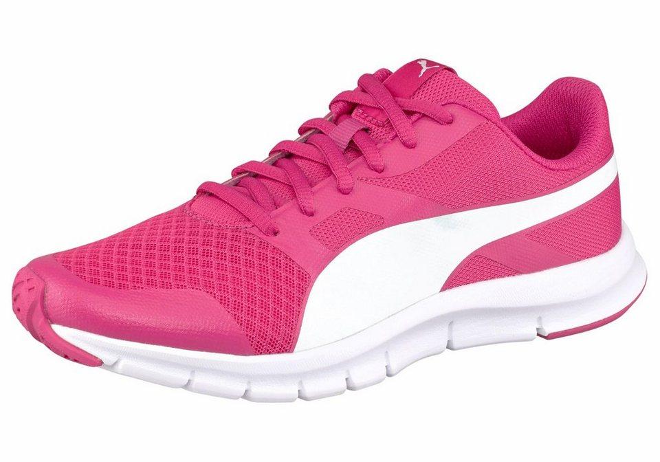 PUMA Laufschuh »Flexracer Junior« in pink-weiß