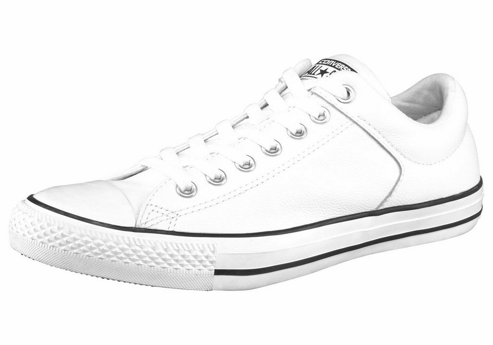 Converse CTAS High Street Leather Sneaker in Weiß