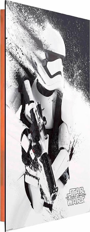 Home affaire Deco Panel »Star Wars«, 60/90 cm in weiß/schwarz