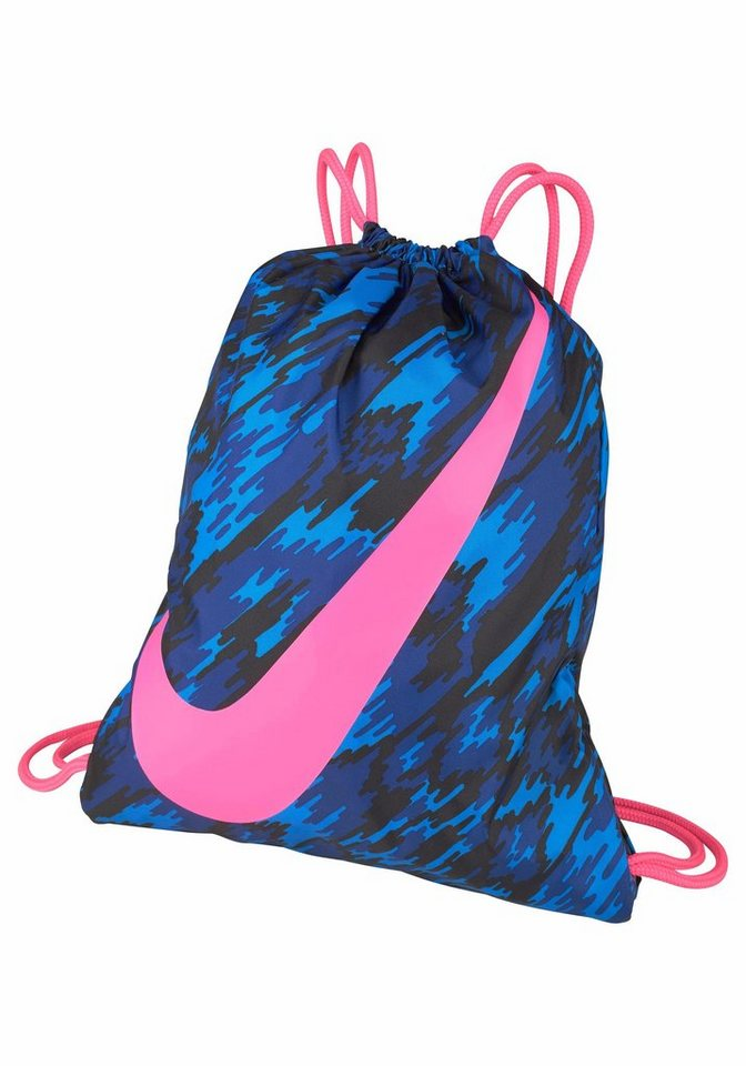 Nike Turnbeutel »YA GRAPHIC GYMSACK« in blau-pink