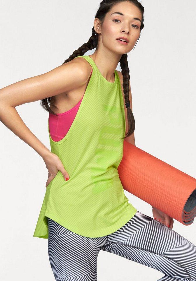 PUMA Tanktop »Dancer Burnout Tank« in gelb