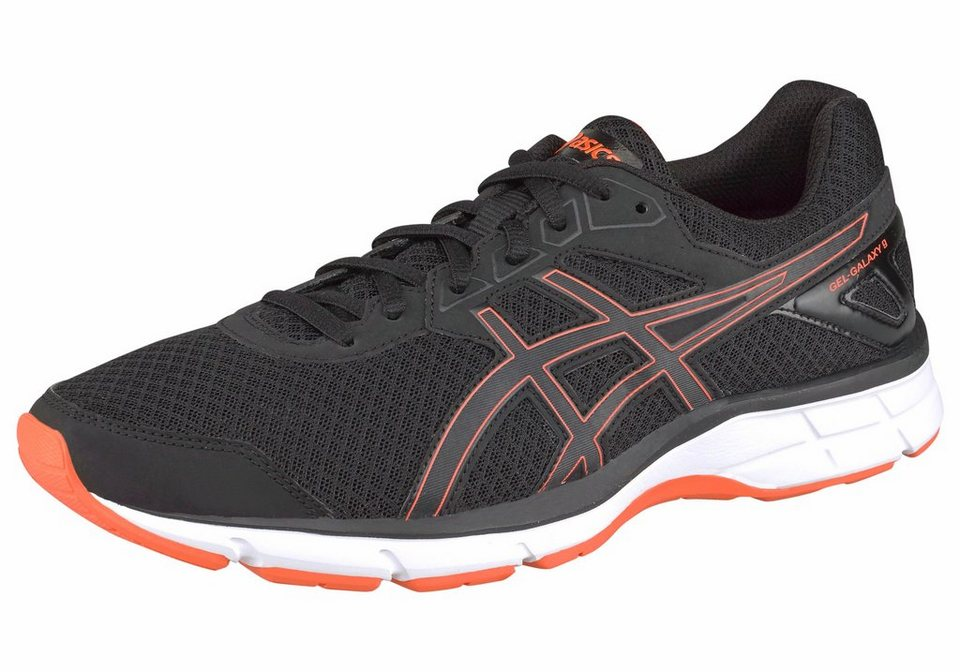 Asics »Gel Galaxy 9 M« Laufschuh in schwarz-orange