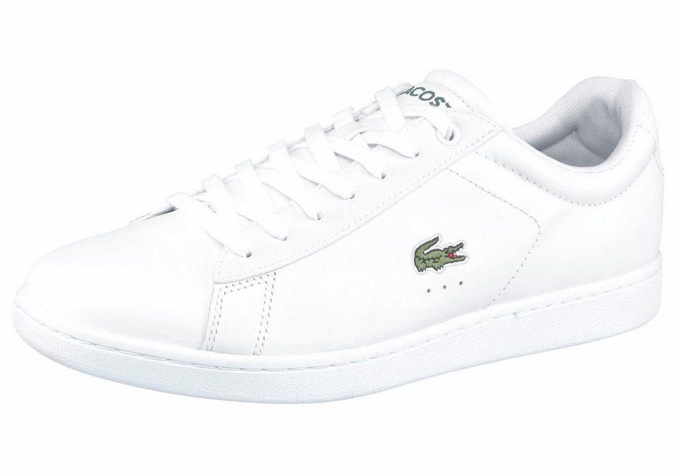 Lacoste Sneaker »Carnaby Evo LCR SPM« in weiß