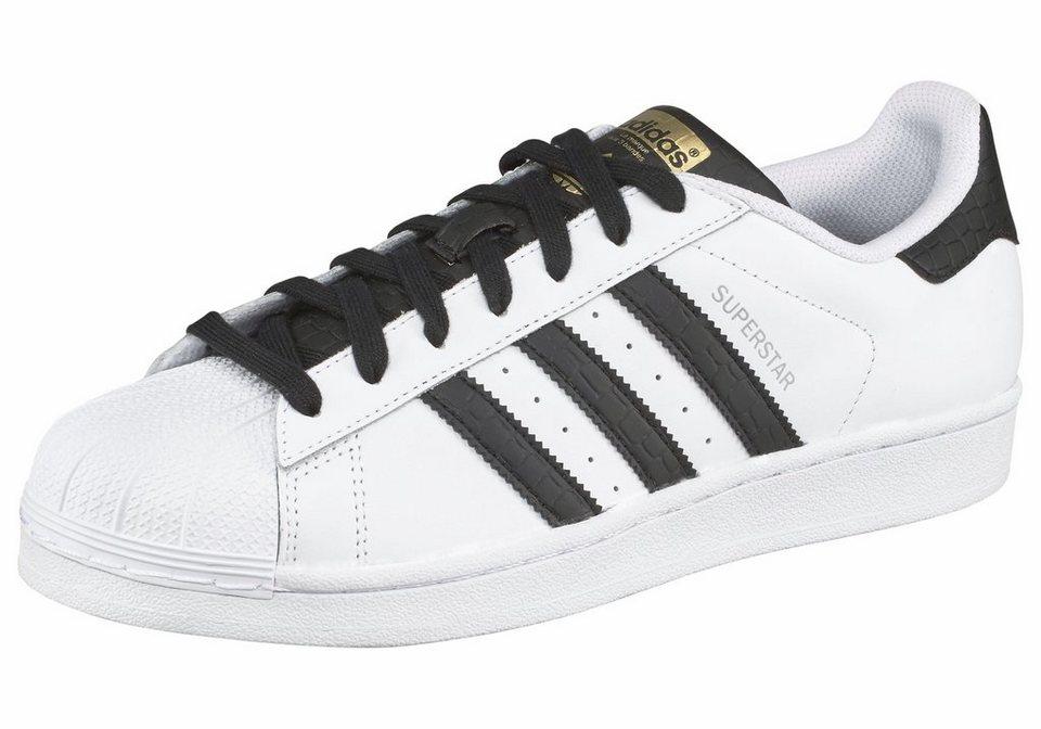adidas Originals »Superstar« Sneaker in weiß-schwarz